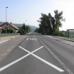 Geodetski načrt - križišče Log pri Brezovici
