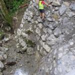 Geodetski načrt na cesti Podbrdo - Petrovo brdo